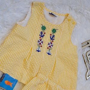 🌻Yellow 2 piece summer outfit 🌻